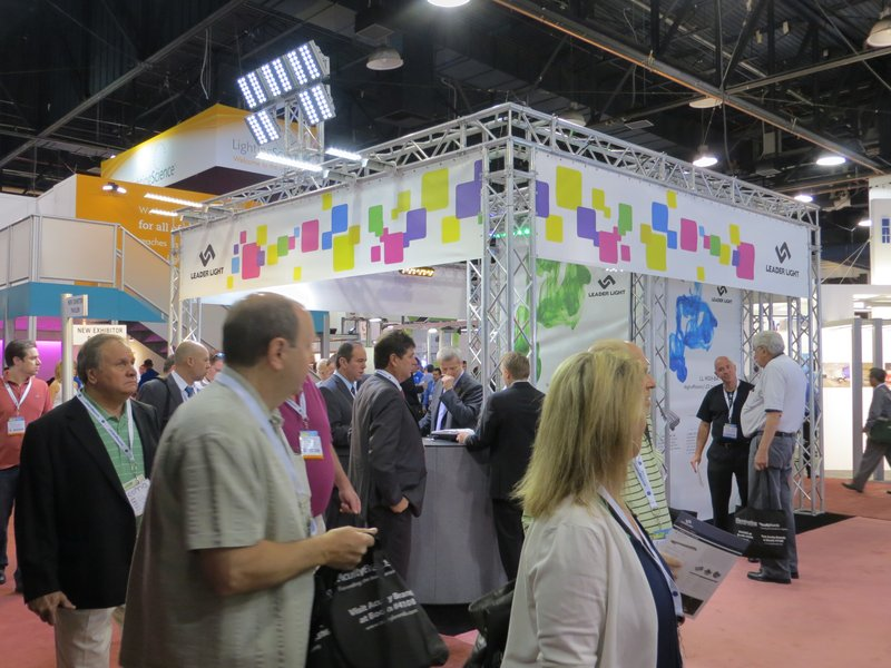 LEADER LIGHT on LightFair 2012 3
