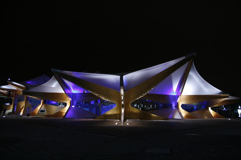 LL products on Expo 2010, Shanghai - Norway pavilon 7
