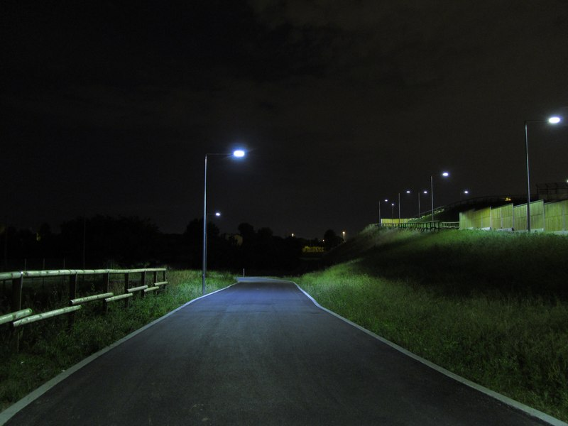 LEADER LIGHT - Cicleway with flyover on A4 Highway – Pero 6