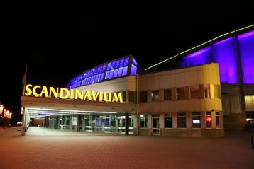 Scandinavium Hall, Sweden 1