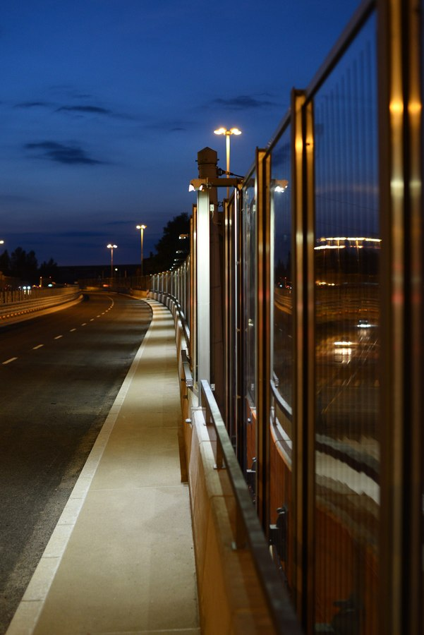 LEADER LIGHT on Flyovers in Chorzow, Poland 3