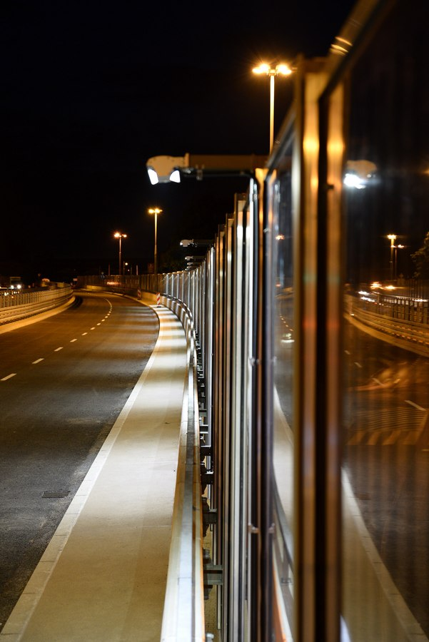 LEADER LIGHT on Flyovers in Chorzow, Poland 5