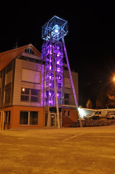 The maquette of mine tower in Spisska Nova Ves, Slovakia 7
