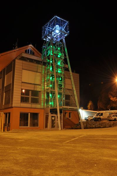 The maquette of mine tower in Spisska Nova Ves, Slovakia 8