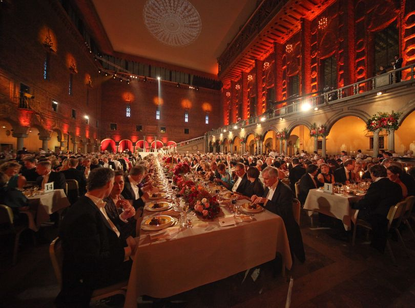 Nobel Banquet 2008 - Photo by Ralph Larmann 12