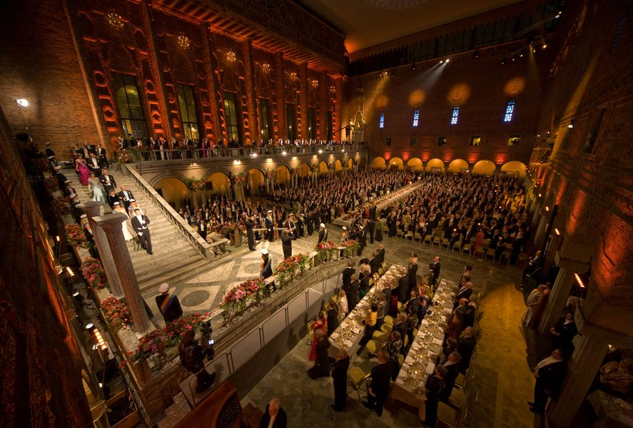 Nobel Banquet 2008 - Photo by Ralph Larmann 4