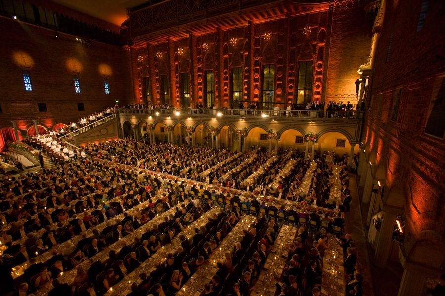 Nobel Banquet 2008 - Photo by Ralph Larmann 5