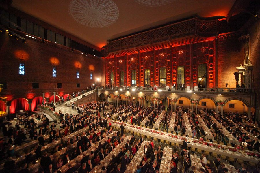 Nobel Banquet 2008 - Photo by Ralph Larmann 7