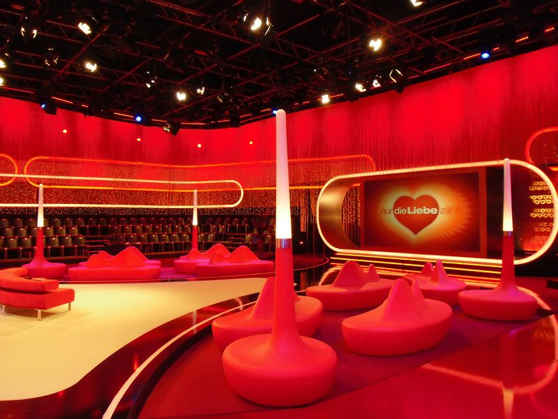 LEADER LIGHT products in RTL studio in Germany 1