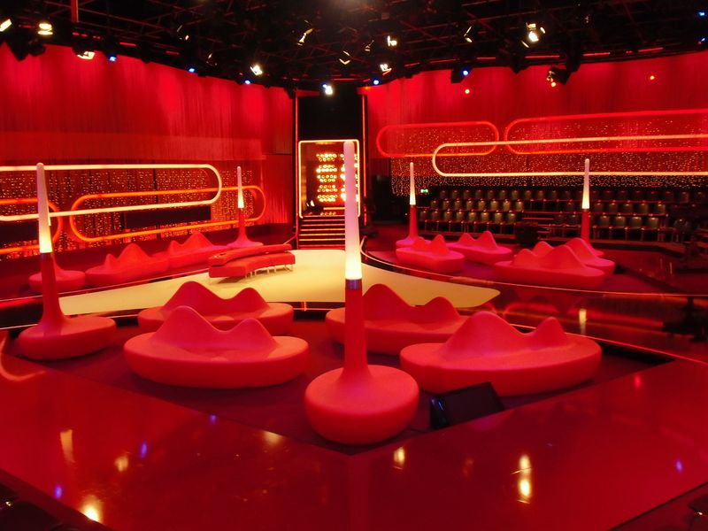 LEADER LIGHT products in RTL studio in Germany 6