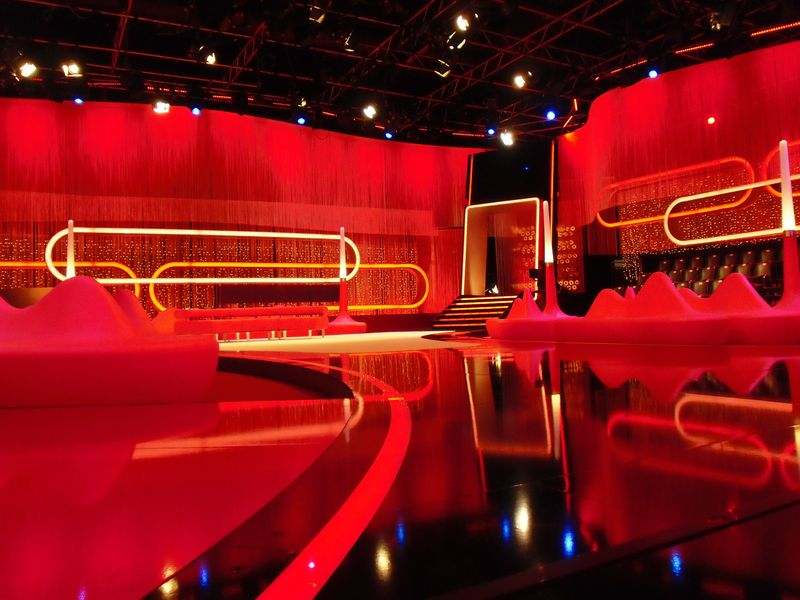 LEADER LIGHT products in RTL studio in Germany 7