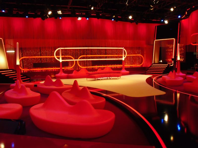 LEADER LIGHT products in RTL studio in Germany 8