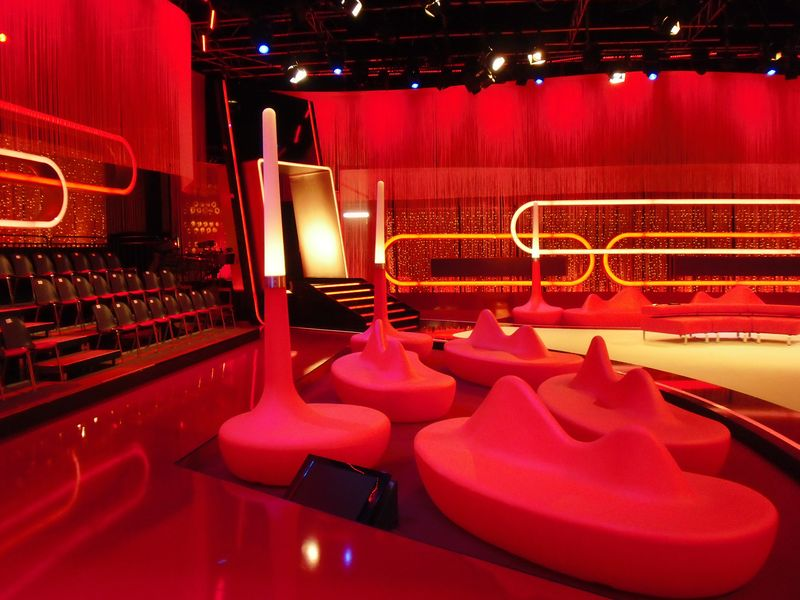 LEADER LIGHT products in RTL studio in Germany 9