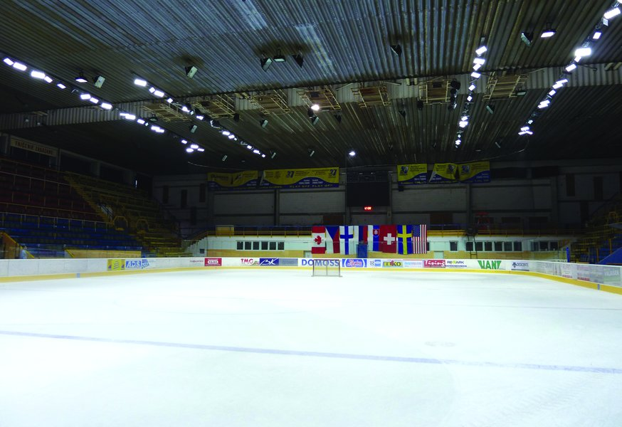 LEADER LIGHT in Hockey Stadium SHK37 Piestany 5