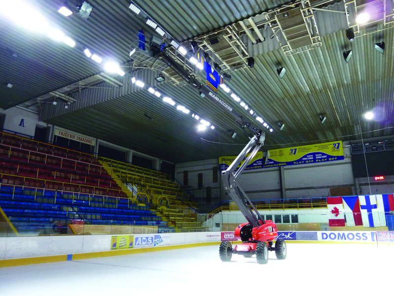 LEADER LIGHT in Hockey Stadium SHK37 Piestany 7