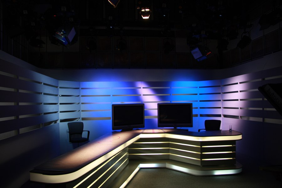 LEADER LIGHT in SK7 studio Czech TV 3